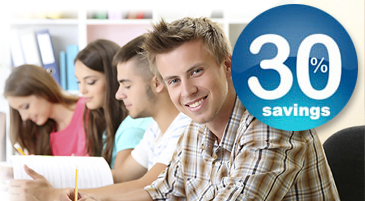 Students recieve a discount on dental services in Scarborough, Ontario